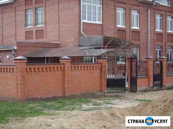 Навесы для автомобилей,козырьки Ульяновск