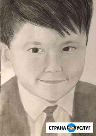 Портрет по фото или портрет вашего питомца Тюмень