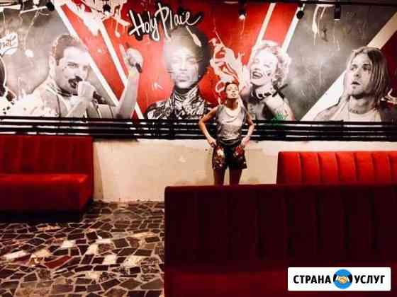 Художник,Художественная роспись стен Симоненко