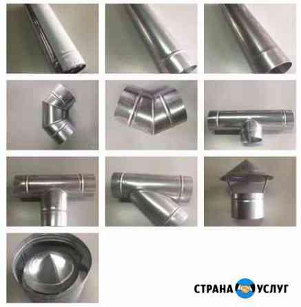 Производство/монтаж изделий вентиляционных систем Рязань