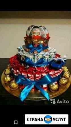 Торты из конфет Гатчина