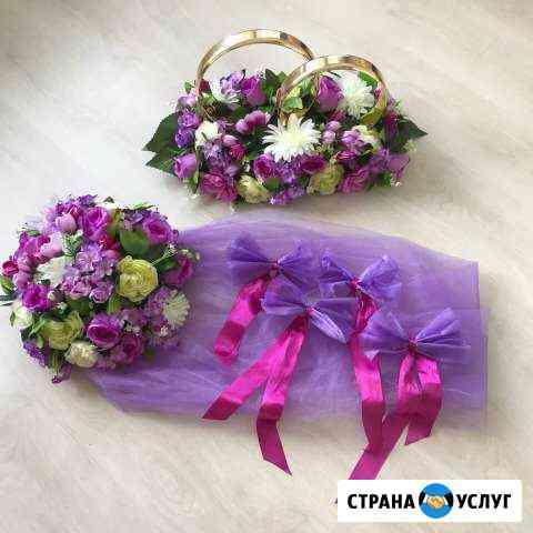 Аренда свадебного украшения на машину Ханты-Мансийск