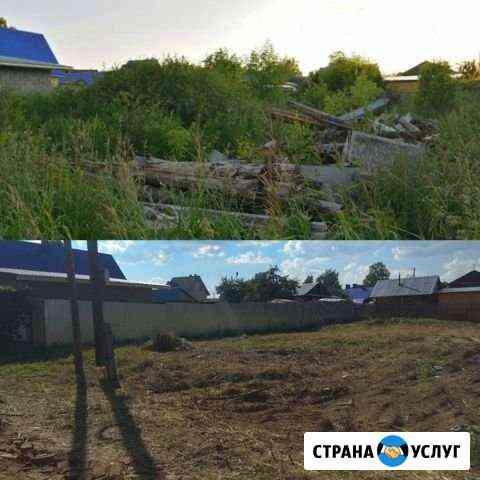 Расчистка, уборка территорий, благоустройство Киров