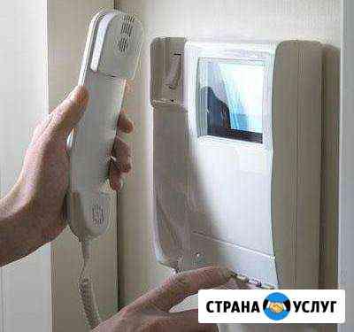 Видеодомофон- Скуд- электрозамок-Ремонт Казань
