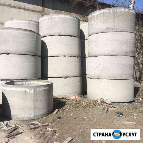 Септик канализация бетонные кольца кессон Абакан
