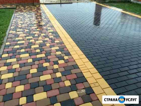 Укладка тротуарной плитки от производителя Рязань