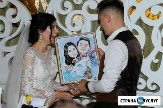 Портреты и шаржи по фото Брянск