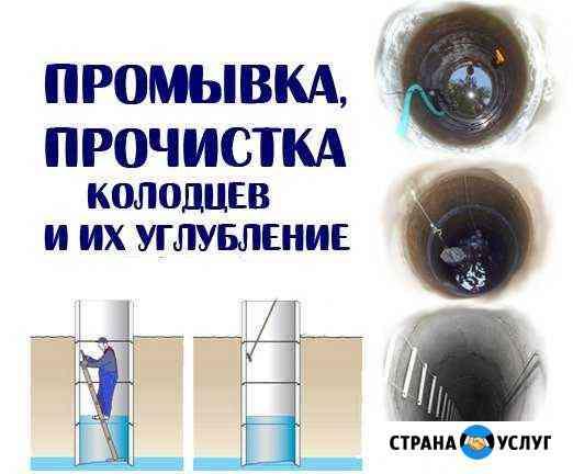 Чистка колодцев Калининград
