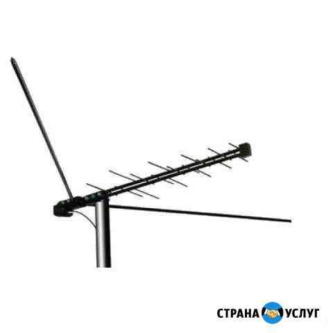 Установка цифрового и спутникового телевидения Архангельск