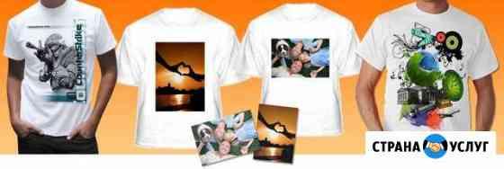 Печать на футболках, кружках, сувенирах Мурманск
