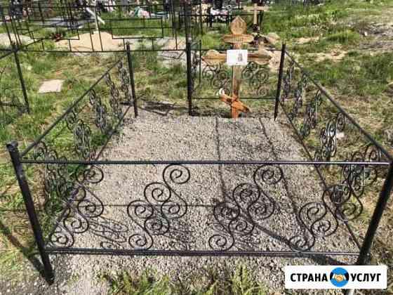 Подсыпка, работы на кладбище Воркута