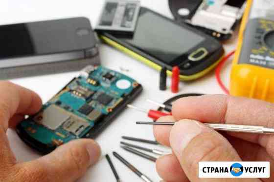 Ремонт электроники, телефонов,замена дисплея,гнёзд Кемерово