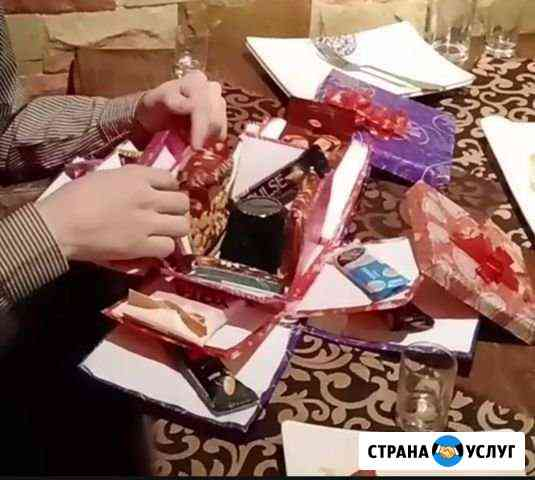 Изготовлю на заказ коробку- сюрприз Благовещенск