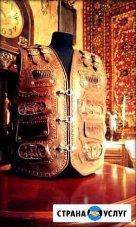 Сошью Вам байкерский жилет и одежду в стиле рок Москва