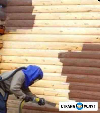 Пескоструйная обработка, огнезащита Псков