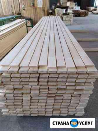 Производство конструкционного палубного бруса Хреновое