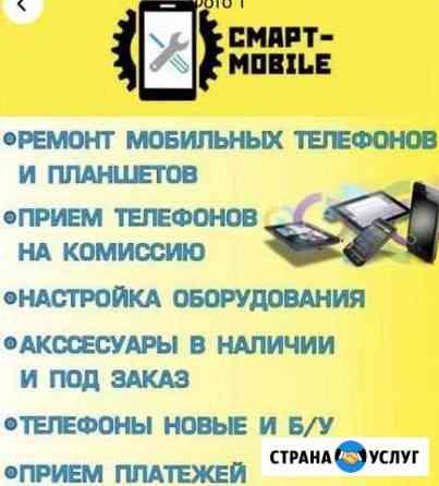 Ремонт телефонов, планшетов, ноутбуков Пионерский