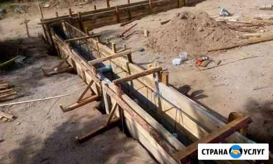 Строительство фундаментов, септиков Чита