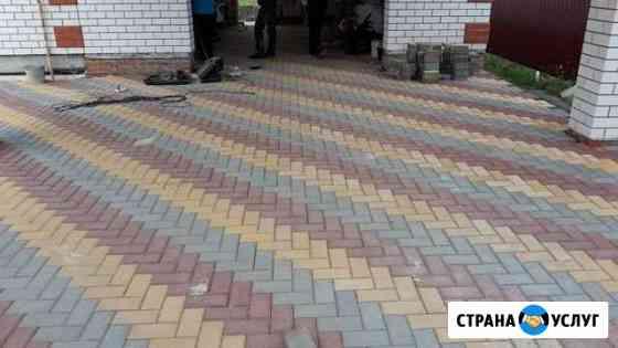 Укладка тротуарной плитки Тамбов
