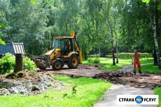 Асфальтирование и профессиональная укладка тротуар Брянск