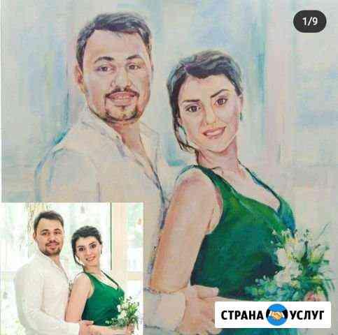 Портрет маслом Барнаул
