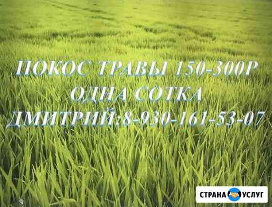 Покос травы Тверь