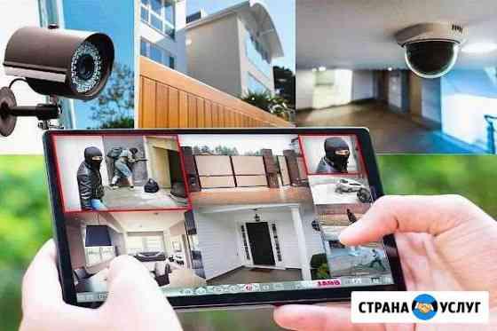 Монтаж видеонаблюдения Саратов