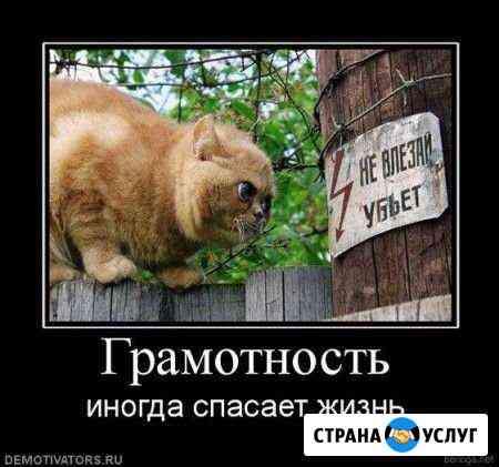 Коррекция текстов,проверка грамматики Астрахань