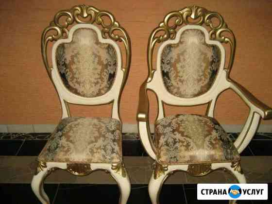 Изготовим стулья металлокаркас, массив на заказ Омск