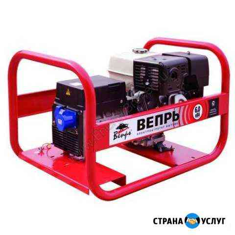 Аренда бензинового генератора Вепрь 6500А Липецк