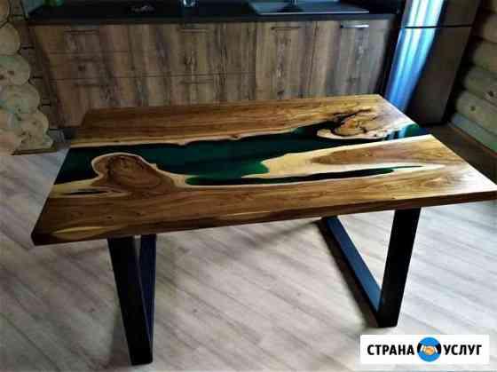 Необычные столы и предметы интерьера Ижевск