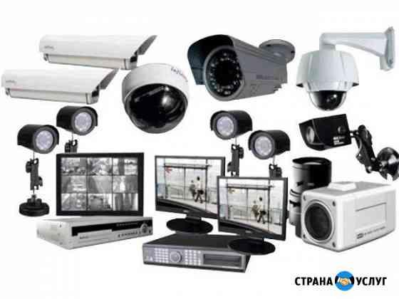 Монтаж видеонаблюдения и пожарной сигнализации Уфа