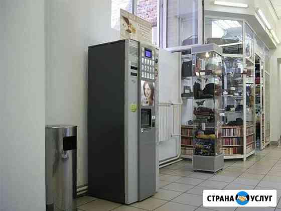 Установка кофейных и снековых автоматов Ангарск