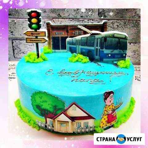 Торты, капкейки на заказ Ульяновск