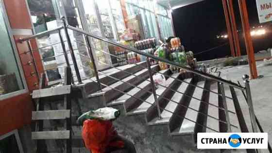 Перила из нержавеющей стали в Владикавказ