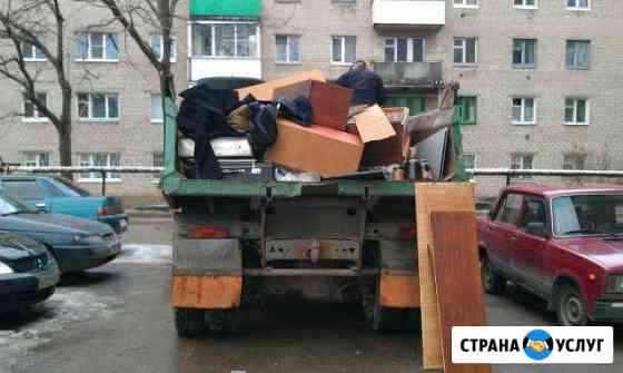 Вывоз мусора/Грузчики/Услуги спецтехники/Хла Волгоград