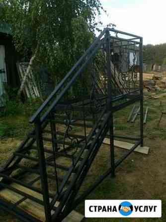 Лестницы калитки качели ограждения Товарково