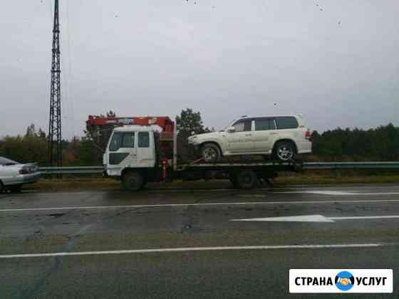 Услуги эвакуатора, услуги манипулятора, услуги кра Новобурейский