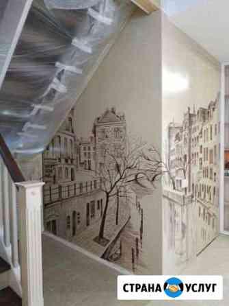 Художественное оформление стен и потолков Екатеринбург
