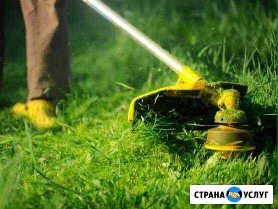 Покос травы Ставрополь