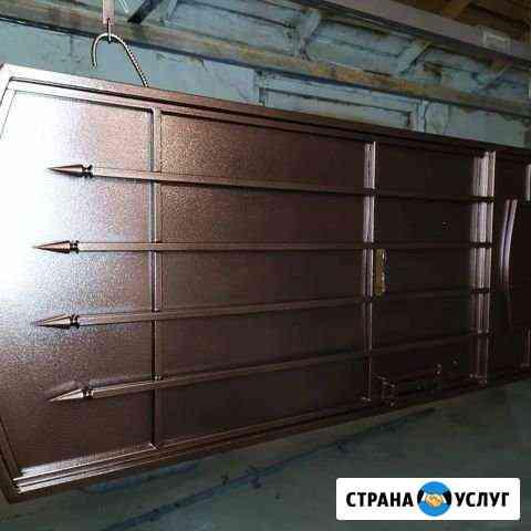 Порошковая окраска ворот и ограждений Кисловодск