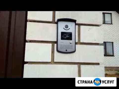 Домофоны, системы контроля и управления доступом Уфа