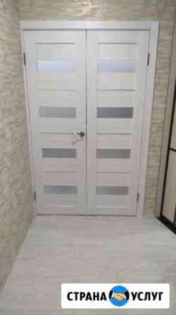 Установка межкомнатных дверей Ижевск