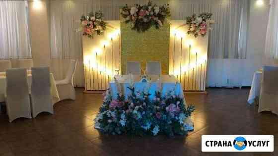 Декор свадебного зала Мурманск