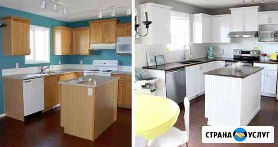 Ремонт и реставрация корпусной мебели и кухонь Кострома