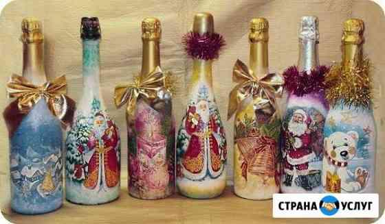 Оформление бутылок Санкт-Петербург