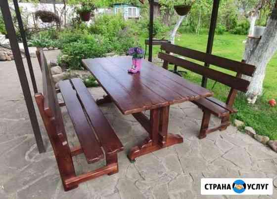 Стол, скамейки под старину Брянск