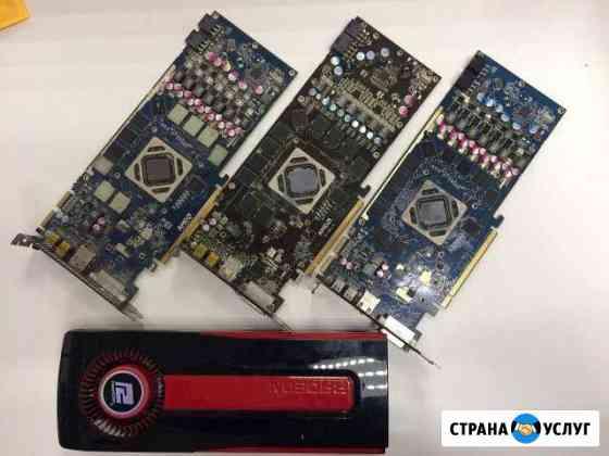 Профессиональный ремонт видеокарт AMD, nvidia Абакан