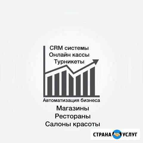 Автоматизация бизнеса CRM, скуд, iiko Махачкала