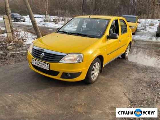 Оклейка такси в желтый. Реклама коммерческого тран Новомосковск